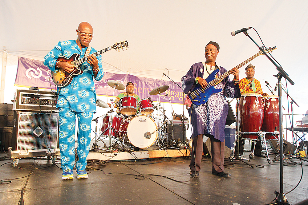 Babá Ken Okulolo & the West African Highlife Band. / Photo by Skip Rowland